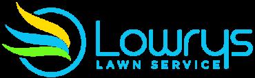Lowrys lawn service logo